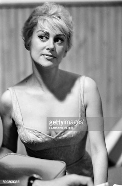 French Actress Martine Carol In France Circa 1960