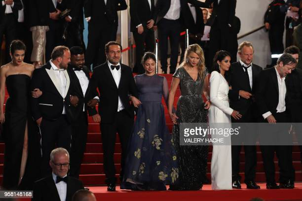 French actress Melanie Doutey French actor Alban Ivanov actor Balasingham Thamilchelvan French director Gilles Lellouche French actress Noee Abita...