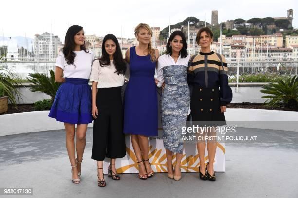 French actress Melanie Doutey French actress Noee Abita Belgian actress Virginie Efira French actress Leila Bekhti and French actress Marina Fois...