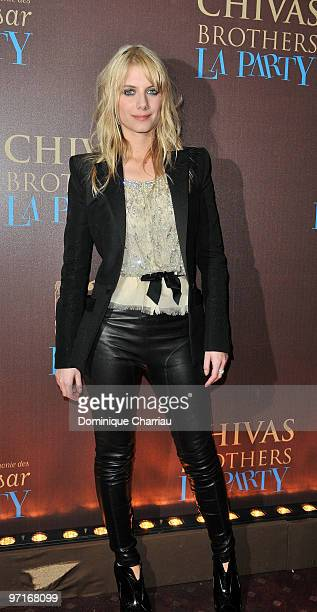 French Actress Melanie Laurent attends the 35th Cesar Film Awards After Party at Dancing Mimi Pinson on February 28 2010 in Paris France