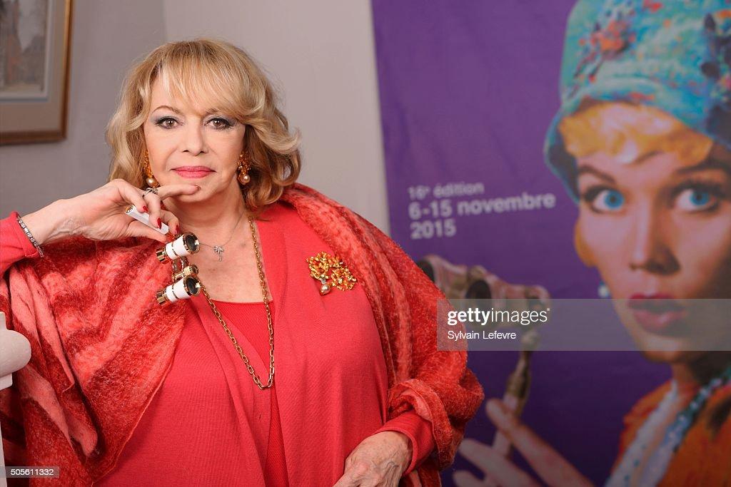 Michele Mercier : Photo Session  At Arras Film Festival : News Photo