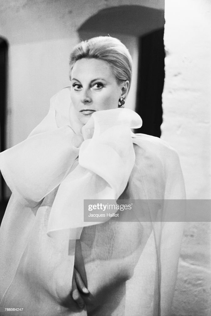 French actress Michele Morgan : News Photo
