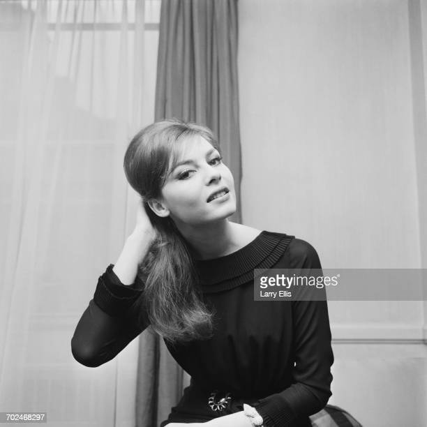 French actress Michèle Mercier, UK, 25th February 1964.