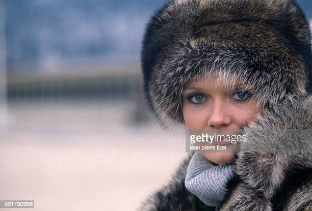 French actress Mimi Coutelier in the 1978 French movie Je Suis Timide Mais Je me Soigne directed by Pierre Richard