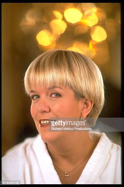 French Actress Mimie Mathy