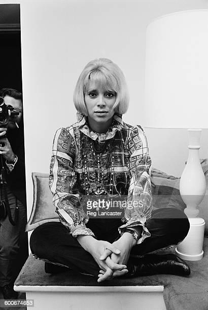 French actress Mireille Darc, 21st December 1967.