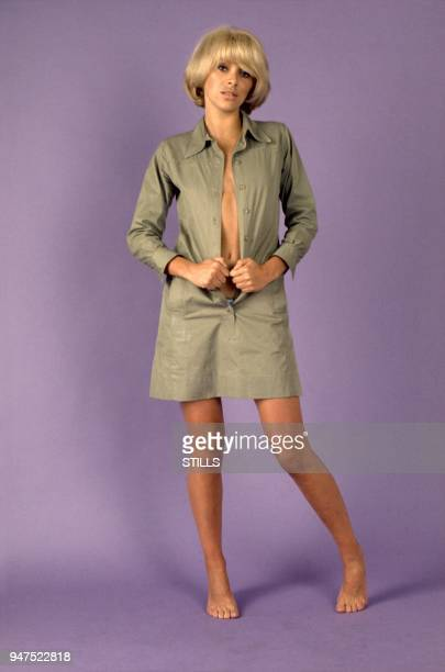 PARIS FRANCE French Actress Mireille Darc Files Pictures Sixties