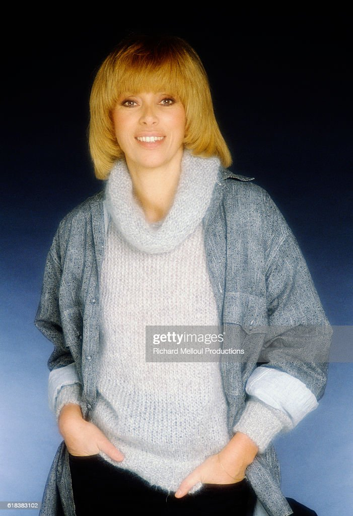 French Actress Mireille Darc : News Photo
