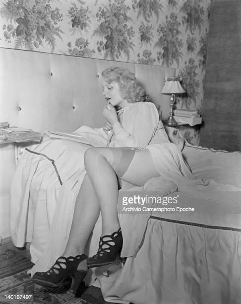 French actress Nathalie Nattier in Paris 21st November 1949