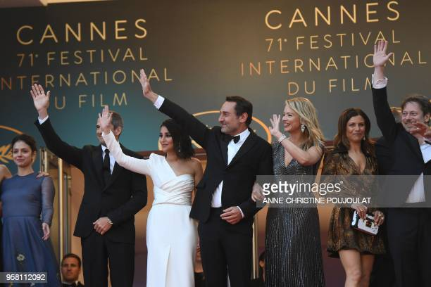 French actress Noee Abita French actor Guillaume Canet French actress Leila Bekhti French director Gilles Lellouche Belgian actress Virginie Efira...