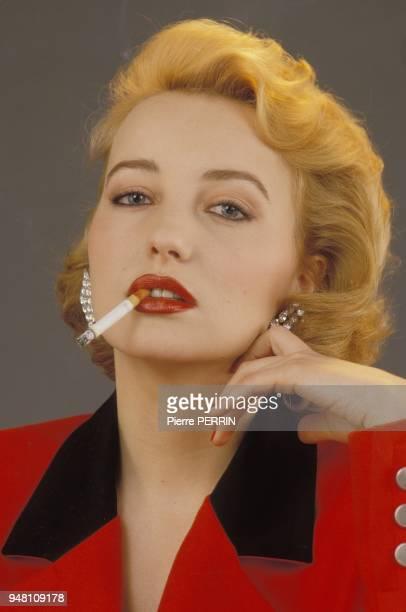 French actress Pauline Lafont closeup