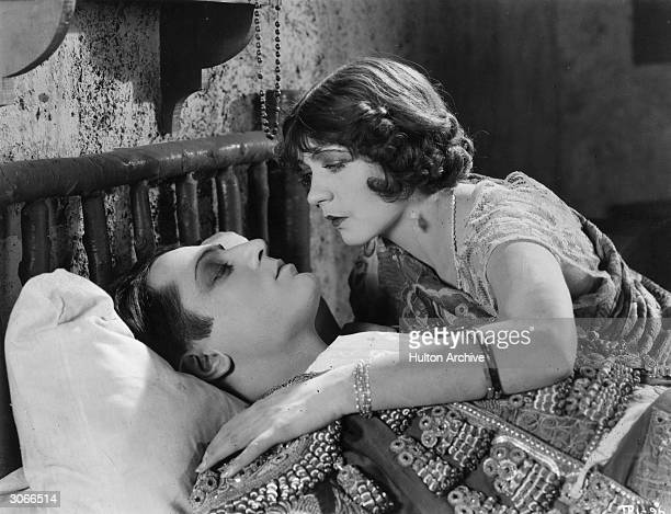 French actress Renee Adoree and Paul Ellis in the MetroGoldwyn film 'The Bandolero'
