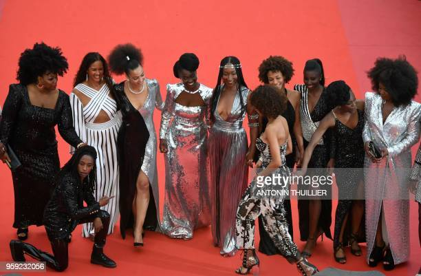 French actress Sabine Pakora French actress and producer France Zobda French director Magaajyia Silberfeld French actress Aissa Maiga French actress...