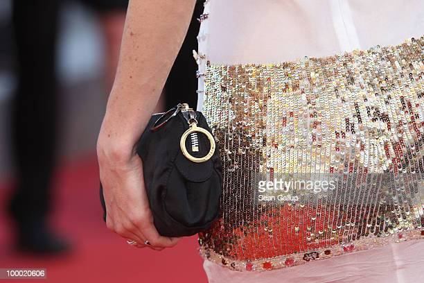 French actress Salome Stevenin attends the Fair Game Premiere at the Palais des Festivals during the 63rd Annual Cannes Film Festival on May 20 2010...