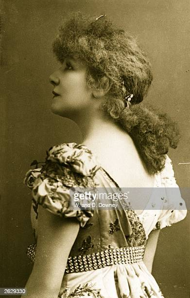 French actress Sarah Bernhardt in 'La Tosca' by Victorien Sardou
