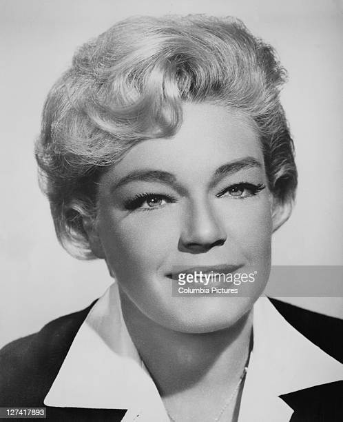 French actress Simone Signoret stars in the film drama 'Ship of Fools' 1965