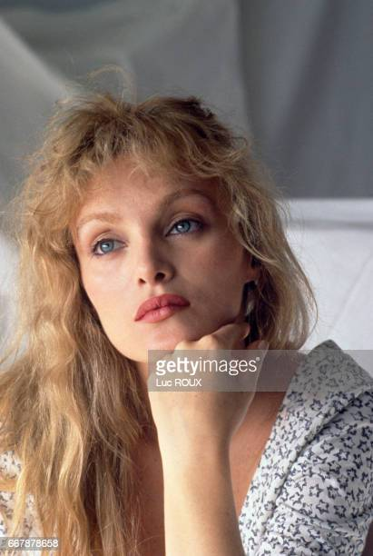 French actress singer and director Arielle Dombasle during the Cannes Film Festival