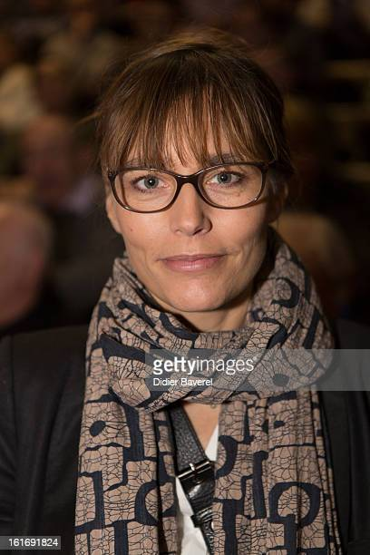 French actress Sophie Duez attends the Conference 'L'Argent Et l'Ethique' Money And Ethic at the Centre Universitaire Mediterraneen on February 14...