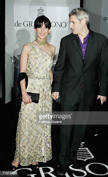 French actress Sophie Marceau and husband producer Jim Lemley attend the De Grisogono party at Hotel Du Cap on May 22, 2006 in Cap d'Antibes, France.