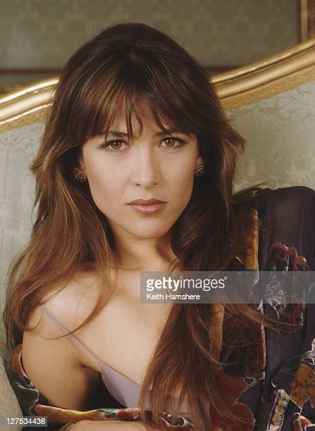French actress Sophie Marceau as Elektra King in a publicity still for the James Bond film 'The World Is Not Enough' 1999