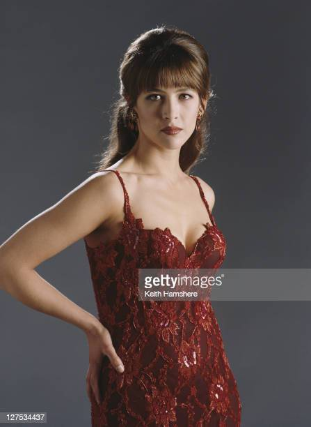 French actress Sophie Marceau as Elektra King in a publicity still for the James Bond film 'The World Is Not Enough', 1999.