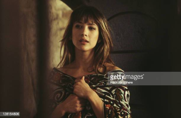 French actress Sophie Marceau as Elektra King in the James Bond film 'The World Is Not Enough', 1999.