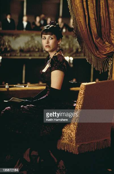 French actress Sophie Marceau as the literary heroine in the film 'Leo Tolstoy's Anna Karenina' 1997