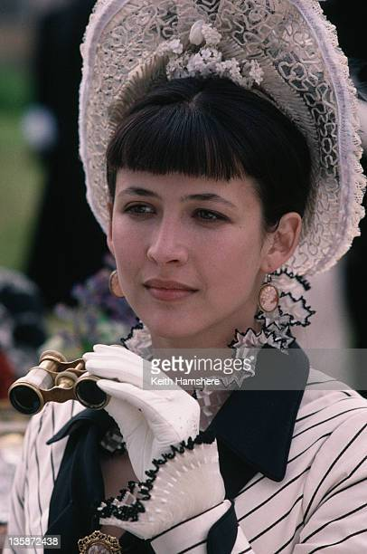 French actress Sophie Marceau as the literary heroine in the film 'Leo Tolstoy's Anna Karenina', 1997.