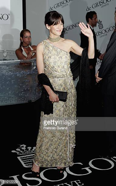 French actress Sophie Marceau attends the De Grisogono party at Hotel Du Cap on May 22, 2006 in Cap d'Antibes, France.