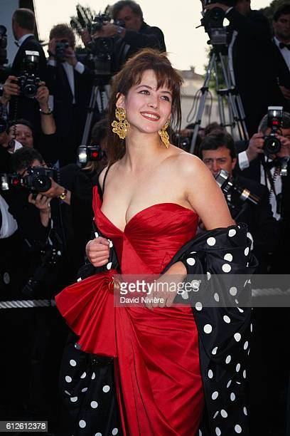 French actress Sophie Marceau during the Cannes Film Festival.