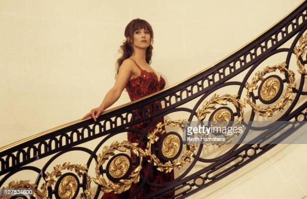 French actress Sophie Marceau stars as Elektra King in the James Bond film 'The World Is Not Enough' 1999