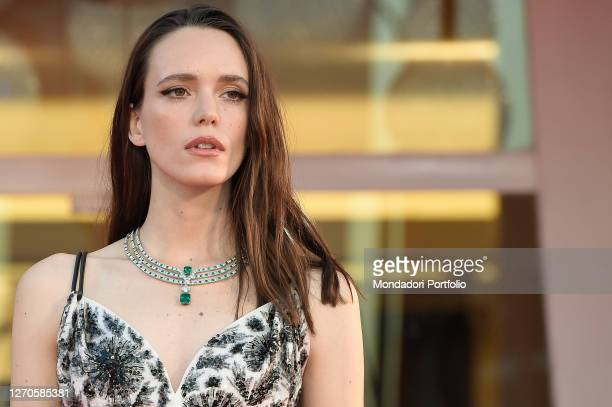 French actress Stacy Martin at the 77 Venice International Film Festival 2020. Amants Red Carpet. Venice , September 3rd, 2020