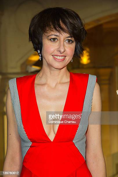 French actress Valerie Bonneton attends the 37th Cesar Film Awards at Theatre du Chatelet on February 24 2012 in Paris France