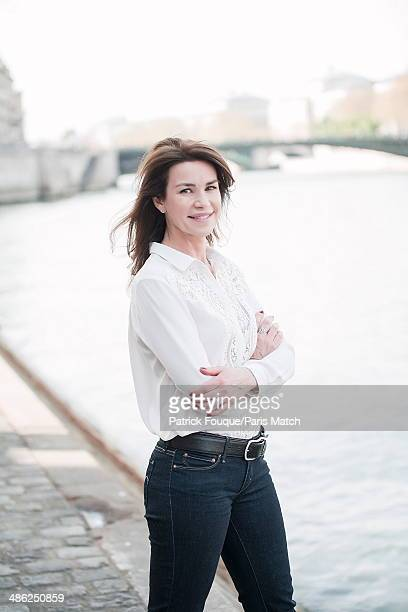 French actress Valerie Kaprisky is photographed for Paris Match on April 01 2014 in Paris France