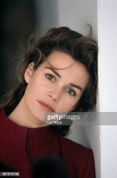 French actress Valerie Kaprisky
