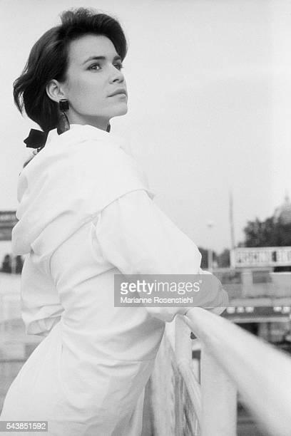 French actress Valérie Kaprisky