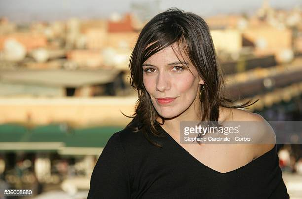French actress Zoe Felix attends the 6th Annual Marrakech Film Festival