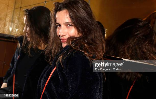 French actress Zoe Felix poses during a portrait session in Paris France on