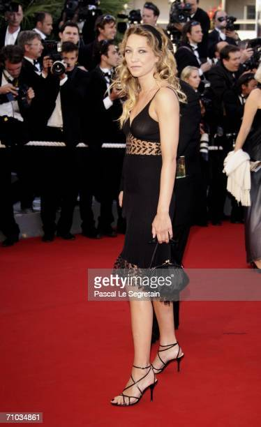 French actresses Laura Smet attends the 'Marie Antoinette' premiere at the Palais des Festivals during the 59th International Cannes Film Festival...