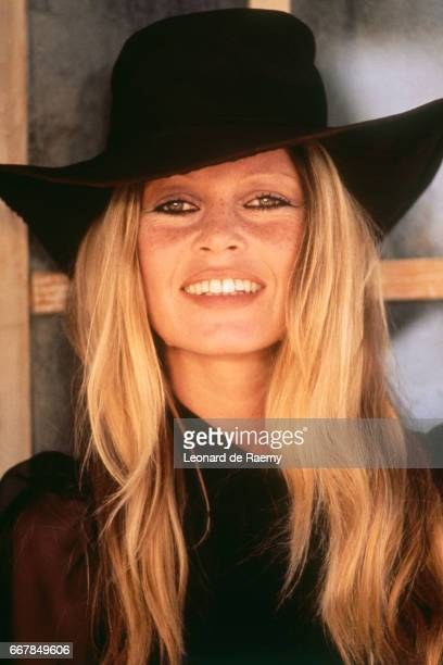 French actresss Brigitte Bardot on the set of Les Petroleuses directed by ChristianJaque 2nd September 1971