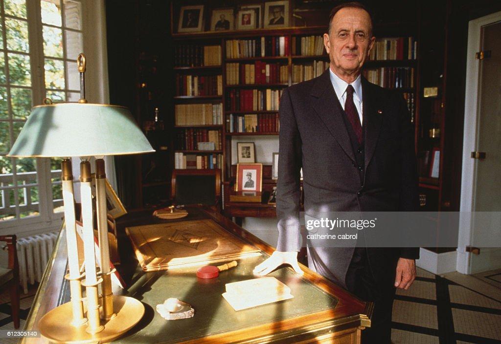 French Admiral Philippe De Gaulle : Nieuwsfoto's