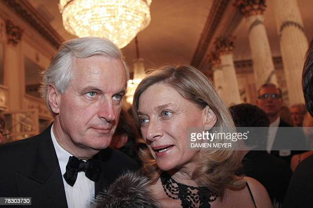 French agriculture minister Michel Barnier and his wife Isabelle are pictured for the opening of the season Tristan und Isolde by Richard Wagner...