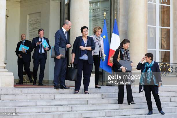 French Agriculture Minister Stéphane Travert French Junior Foreign Affairs Minister JeanBaptiste Lemoyne French Education Minister JeanMichel...