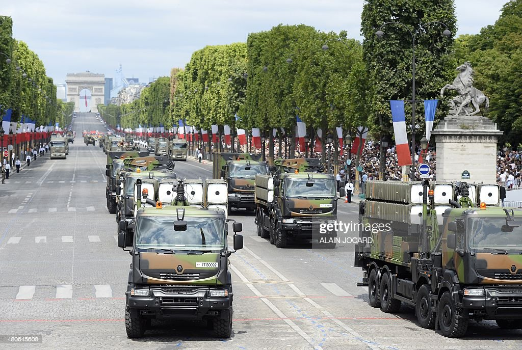 French air force's 5/590 Barrois Air Defense Squadrons take part in