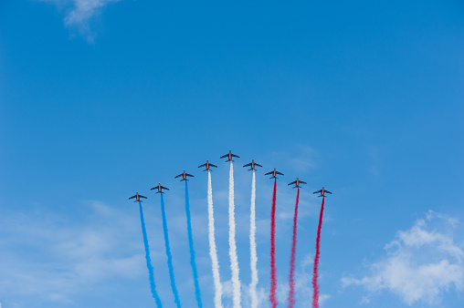 French air patrol - National Day 475151372