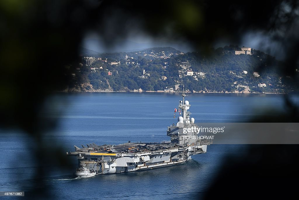 French Charles De Gaulle Aircraft Carrier Deployed In Syria And Iraq Fight Against Ic State