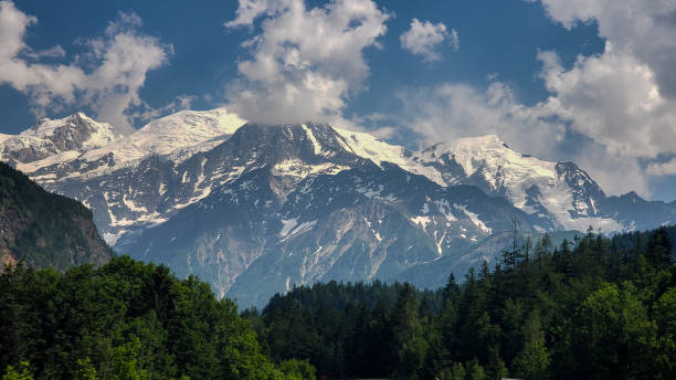 French Alps From Chamonix