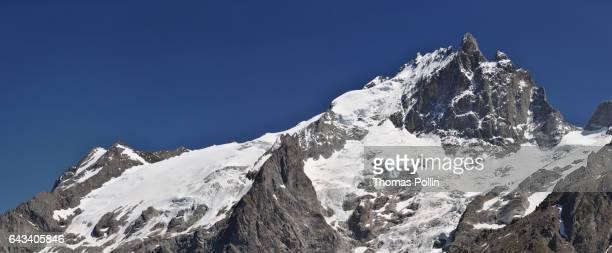 French Alps glacier La Meije
