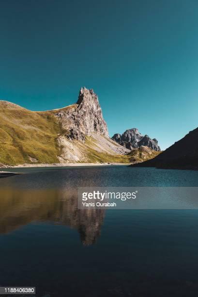 french alps mountain landscape - イゼール県 ストックフォトと画像