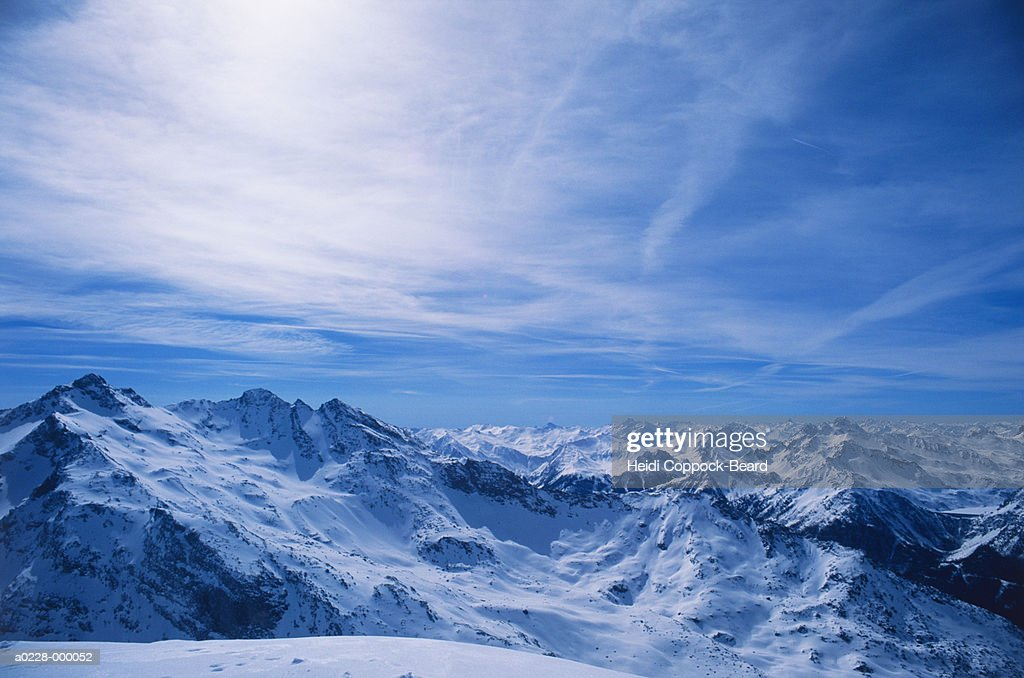 French Alps : Stock Photo